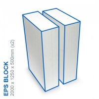 EPS Block - 2000x1250x500mm (x2)