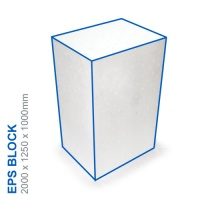 EPS Block - 2000x1250x1000mm