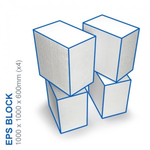 EPS Block - 1000x600x1000mm (x4)