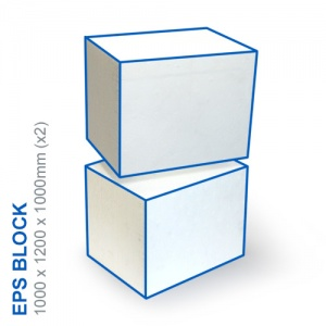 EPS Block - 1000x1200x1000mm (x2)