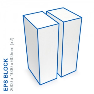 EPS Block - 2000x1000x600mm (x2)