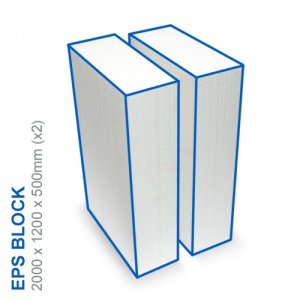EPS Block - 2000x1200x500mm (x2)