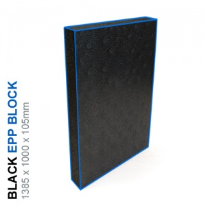 EPP Block 45g/l - 1385x1000x105mm (Black)
