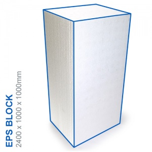 EPS Block - 2400x1000x1000mm