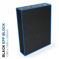 EPP Block 100g/l - 1385x1000x200mm (Black)